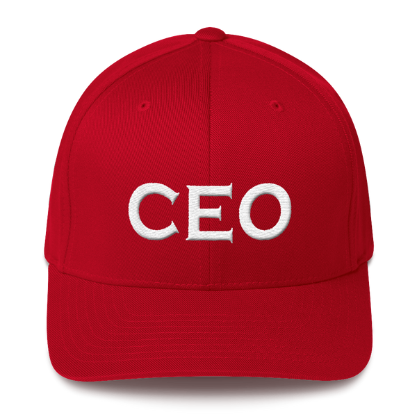 """CEO"" Unisex Structured Twill Cap Hats - Lavished Collection"