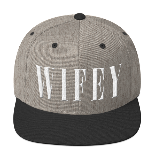 Wifey Snapback Hat Hats - Lavished Collection