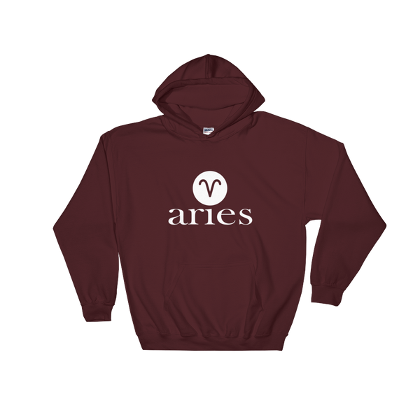 Aries -Unisex Hooded Sweatshirt - lavished-collection