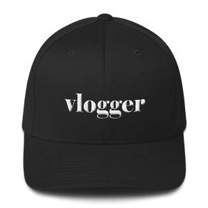 Vlogger- Unisex Structured Twill Cap - lavished-collection
