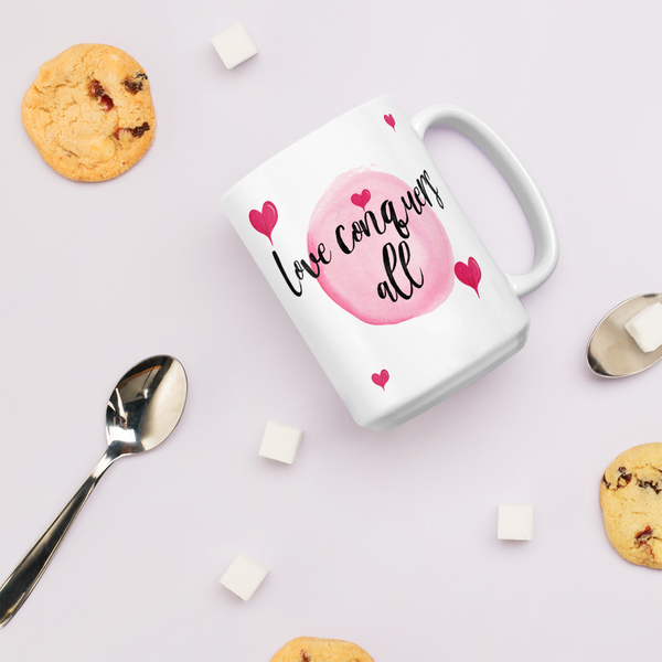 Love Conquers All- Mug - lavished-collection
