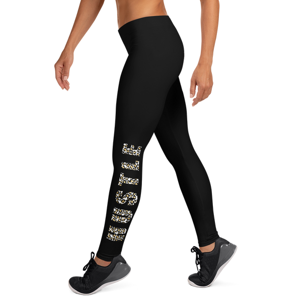 Hustle- Leopard Print Leggings - lavished-collection