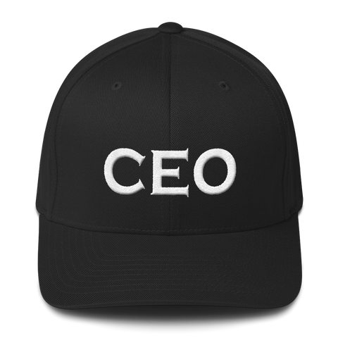 CEO - Unisex Structured Twill Cap - lavished-collection