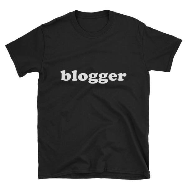 Blogger Short-Sleeve Unisex T-Shirt - lavished-collection
