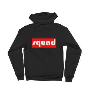 """Squad"" Back Print Hoodie sweater Apparel - Lavished Collection"