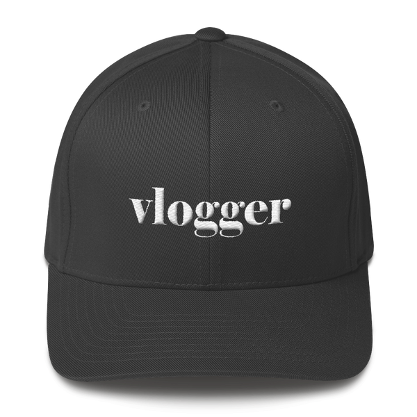 """Vlogger"" Unisex Structured Twill Cap - lavished-collection"