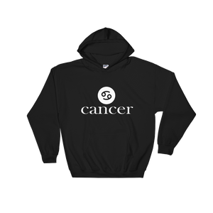 Cancer Zodiac- Hooded Sweatshirt - lavished-collection