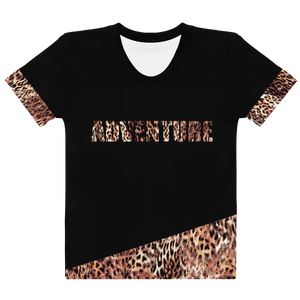 Adventure - Animal Print - Women's T-shirt - lavished-collection