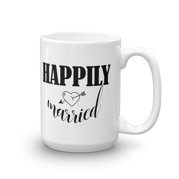Happily Married -Mug - lavished-collection