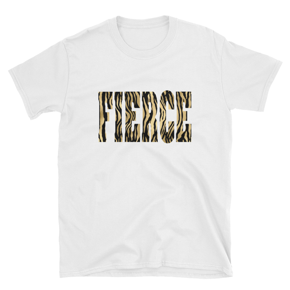 Fierce - Animal Print Women's Tee - lavished-collection