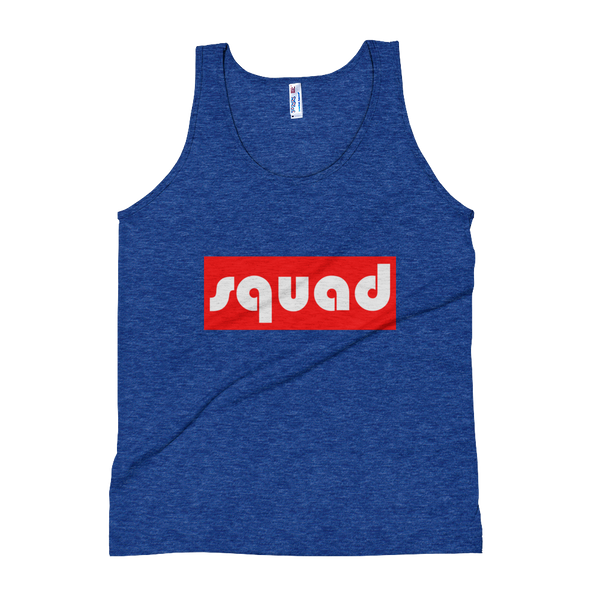 Squad-(Red & White) Unisex Tank Top - lavished-collection
