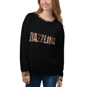 Dazzling - Leopard Print Sweatshirt - lavished-collection