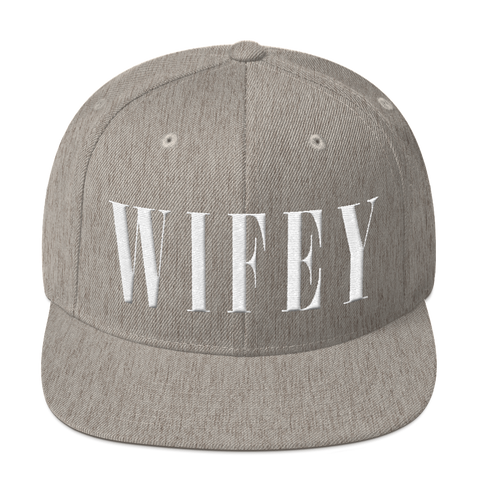 Wifey Snapback Hat - lavished-collection