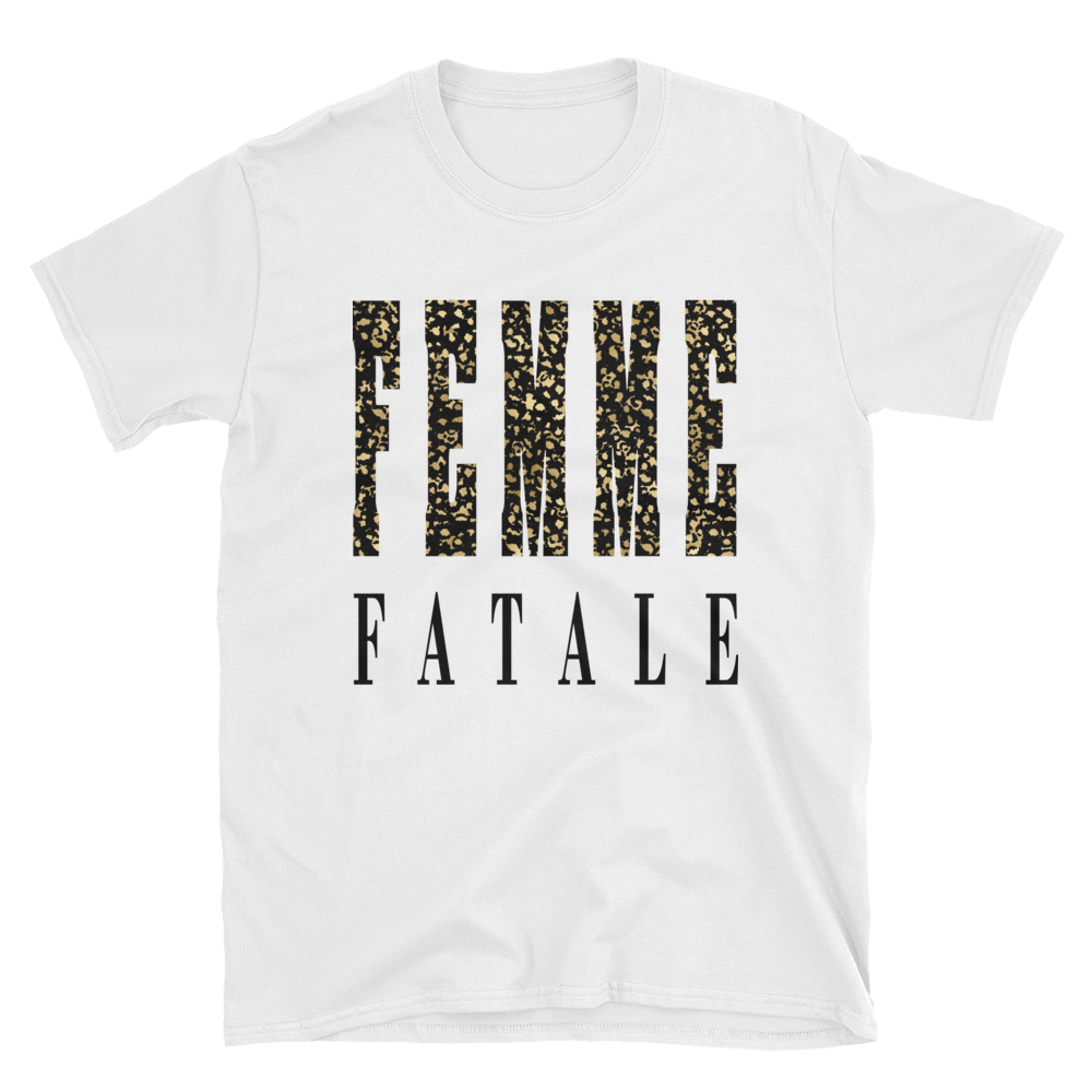 Femme Fatale - Animal Print Tee - lavished-collection