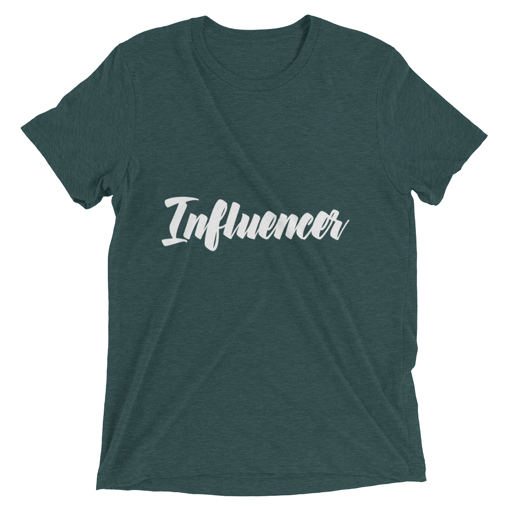 """Influencer"" Short sleeve t-shirt Apparel - Lavished Collection"