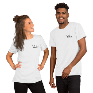 """Bae"" Embroidered Short-Sleeve Unisex T-Shirt Apparel - Lavished Collection"