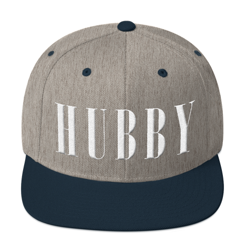 Hubby Snapback Hat Hats - Lavished Collection