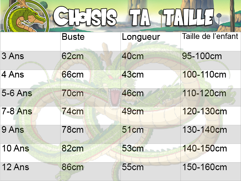 guide des tailes