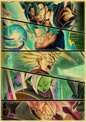 Affiche Dragon Ball Super