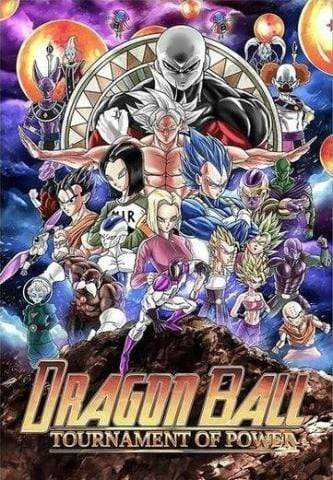 Affiche Dragon Ball Tournament of Power