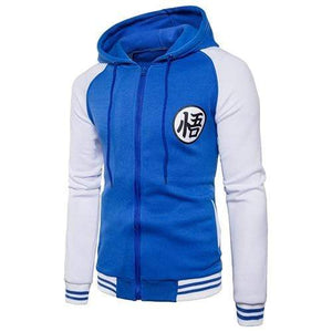 Blouson Dragon Ball bleu blanc