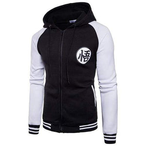 Blouson Dragon Ball noir blanc