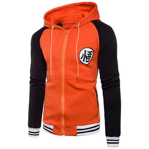 Blouson Dragon Ball noir orange