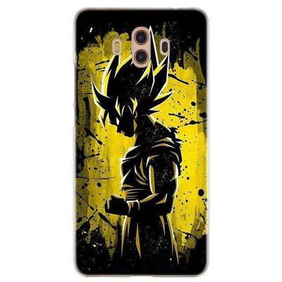 Coque Noire Dragon Ball Huawei Mate & Y