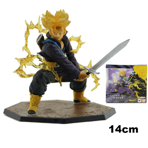 Figurine Trunks Saiyan Bandai