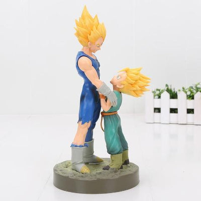 Figurine Vegeta et Trunks