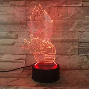 Lampe Dragon Ball Z Vegeta