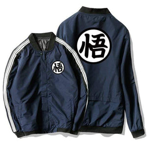 Manteau Dragon Ball bleu marine