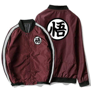 Manteau Dragon Ball bordeaux