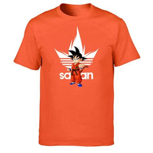 T-Shirt Adidas Dragon Ball Z orange