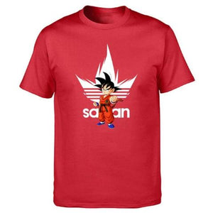 T-Shirt Adidas Dragon Ball Z rouge