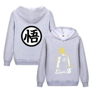 Sweat Enfant Dragon Ball Super Gris