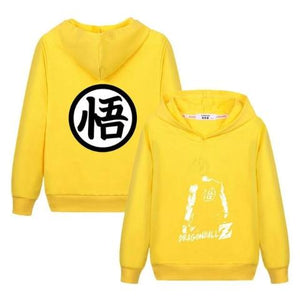 Sweat Enfant Dragon Ball Super Jaune