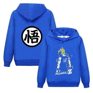 Sweat Enfant Dragon Ball Super Bleu