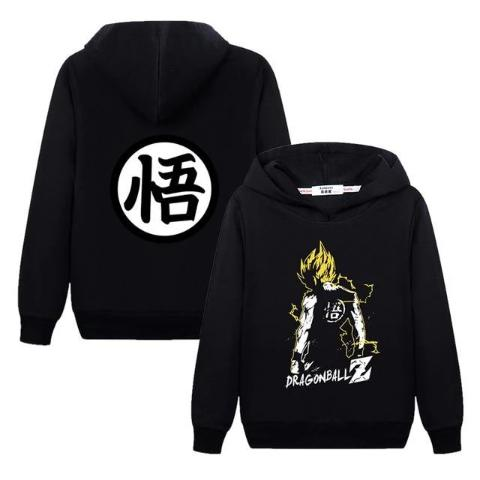 Sweat Enfant Dragon Ball Super Noir