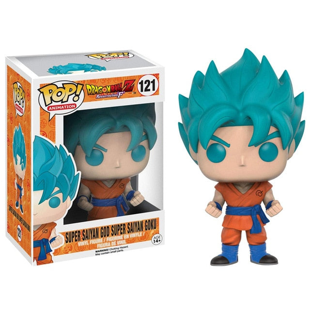 Figurine Pop Dragon Ball Z Goku Super Saiyan God Blue