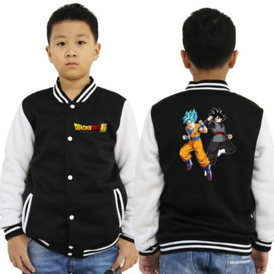Veste Dragon ball Z Enfant goku black goku