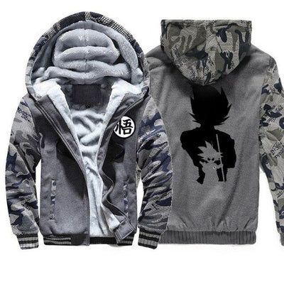 Veste Dragon Ball Z gris