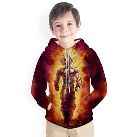 Sweat Dragon ball Z Enfant goku