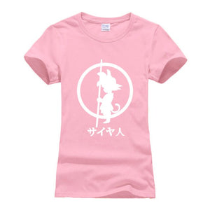 T-Shirt Femme Dragon Ball Goku Enfant