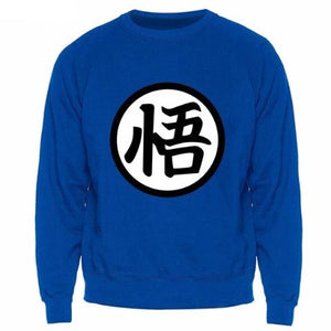 Pull Dragon Ball GT bleu