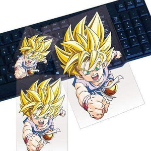 Sticker Dragon Ball Macbook