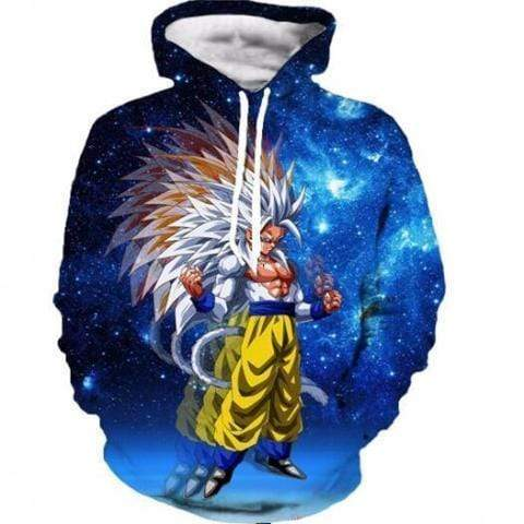 Sweat DBZ Super Saiyan 5