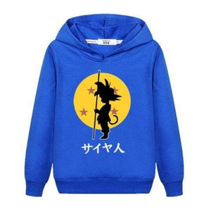 Sweat Enfant Dragon Ball Z Bleu
