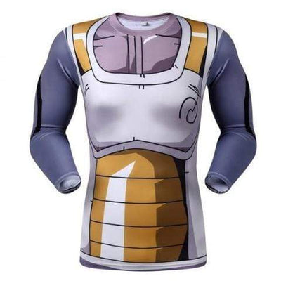 T-Shirt Compression Vegeta