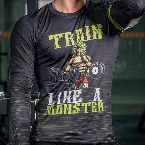T-Shirt Musculation Broly